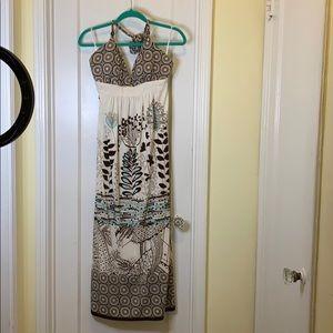 Charlotte Russe Halter maxi dress